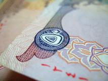 Banconota dei UAE Fotografia Stock Libera da Diritti