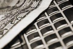 Banconota del dollaro Fotografia Stock Libera da Diritti