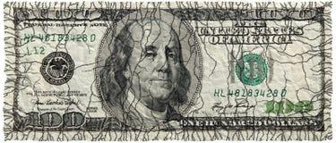 Banconota del dollaro immagini stock libere da diritti