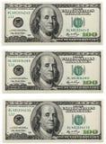 Banconota del dollaro fotografie stock libere da diritti
