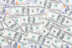 Banconota del dollaro del fondo Immagine Stock Libera da Diritti
