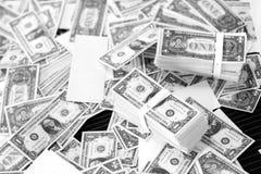 Banconota del fondo dei soldi Immagini Stock Libere da Diritti