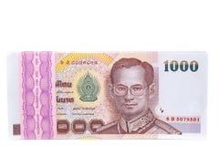 Banconota della Tailandia Immagini Stock