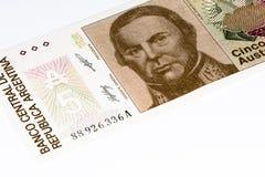 Banconota di currancy del Sudamerica Immagini Stock