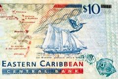 Banconota di currancy del Sudamerica Fotografie Stock Libere da Diritti