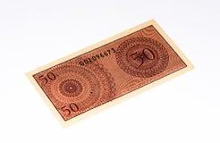 Banconota di Currancy dell'Asia Fotografia Stock