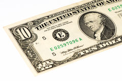 Banconota di currancy di U.S.A. Fotografie Stock Libere da Diritti
