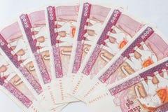 Banconota di myanmar kyat Fotografia Stock Libera da Diritti