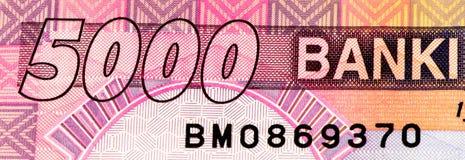 Banconota di valuta dell'Africa Immagini Stock Libere da Diritti