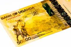 Banconota di valuta dell'Africa Fotografia Stock Libera da Diritti