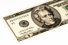 Banconota di valuta di U.S.A. Immagine Stock Libera da Diritti