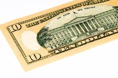 Banconota di valuta di U.S.A. Fotografia Stock