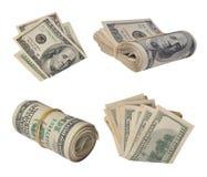 Banconota in dollari Fotografie Stock