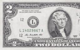 Banconota in dollari Immagine Stock