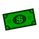 Banconota in dollari Immagine Stock Libera da Diritti