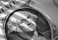Banconota in dollari di U.S.A. fotografia stock