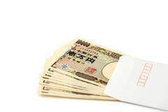Banconota giapponese 10000 Yen Fotografia Stock