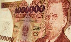 Banconota polacca di WÅadysÅaw Reymont Immagini Stock Libere da Diritti