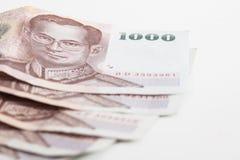 Banconota tailandese Fotografia Stock Libera da Diritti