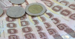 Banconota tailandese Fotografie Stock Libere da Diritti