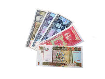 Banconote cubane Immagine Stock Libera da Diritti