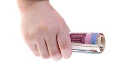 Banconote degli euro Fotografie Stock Libere da Diritti