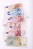 Banconote degli euro Fotografia Stock