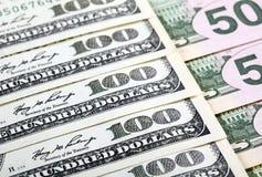 Banconote del dollaro Immagine Stock Libera da Diritti