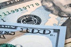Banconote del dollaro dell'America Fotografia Stock Libera da Diritti