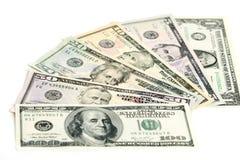Banconote del dollaro US Fotografie Stock