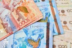 Banconote del Kazakistan Fotografie Stock Libere da Diritti