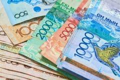 Banconote del Kazakistan Immagini Stock Libere da Diritti