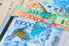 Banconote del Kazakistan Fotografia Stock Libera da Diritti