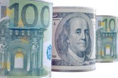 Banconote del mondo Fotografie Stock Libere da Diritti