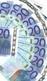 Banconote dell'intervallo dei particolari Immagine Stock Libera da Diritti
