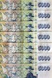 Banconote della corona svedese dell'Islanda Fotografie Stock
