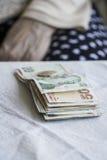 Banconote della Lira turca Immagine Stock