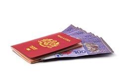 Banconote della Malesia Immagini Stock