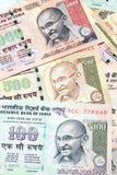 Banconote della rupia indiana Fotografia Stock Libera da Diritti
