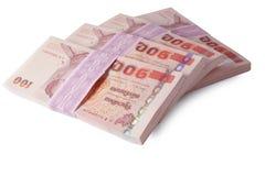 Banconote della Tailandia Fotografia Stock