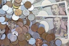 Banconote di Yen giapponesi Fotografia Stock Libera da Diritti