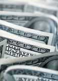 $100 banconote in dollari Fotografia Stock