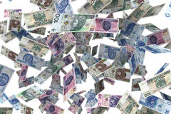Banconote polacche Immagine Stock Libera da Diritti