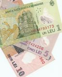 Banconote rumene Immagine Stock