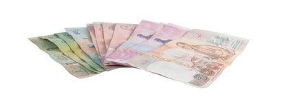 Banconote tailandesi fotografia stock