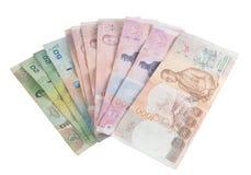Banconote tailandesi immagini stock libere da diritti