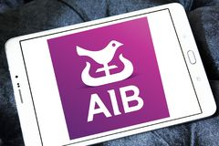 Bancos de Allied Irish, logotipo de AIB fotografia de stock royalty free