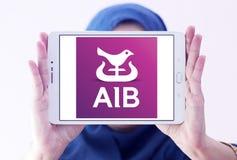 Bancos de Allied Irish, logotipo de AIB imagens de stock royalty free
