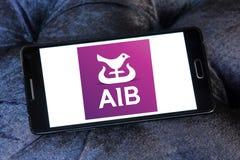 Bancos de Allied Irish, logotipo de AIB imagem de stock royalty free