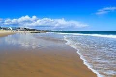 Bancos de areia Dorset imagens de stock royalty free